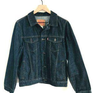 LEVI'S Denim Button Front Jean Jacket 13-15